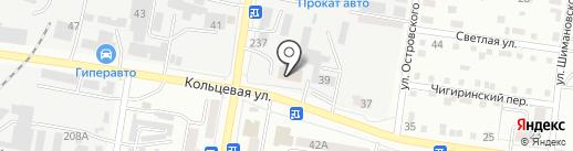 Теплоблок на карте Благовещенска