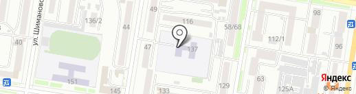 Детский сад №54 на карте Благовещенска