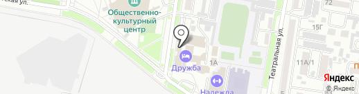 Амурская торгово-промышленная палата на карте Благовещенска