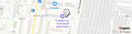 Элиш на карте Благовещенска