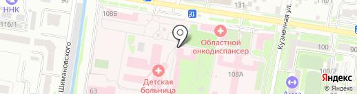 Отделение платных услуг на карте Благовещенска