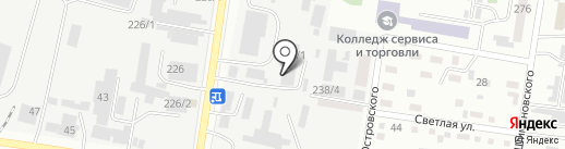 Автотоп на карте Благовещенска