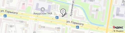 Тakara суши на карте Благовещенска