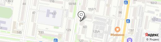 Архитектурно-планировочное бюро на карте Благовещенска