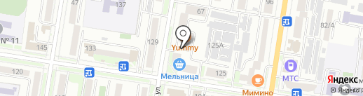 Маяк, ЖСК на карте Благовещенска
