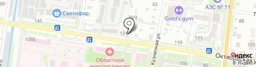 Кузнец на карте Благовещенска