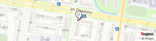 Супермаркет канцелярских товаров на карте Благовещенска