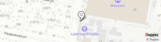 ТриКолор+ на карте Благовещенска