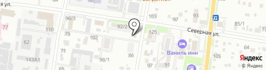 Анастасия на карте Благовещенска