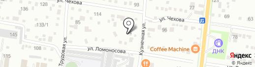 ПЛЭН-Амур на карте Благовещенска