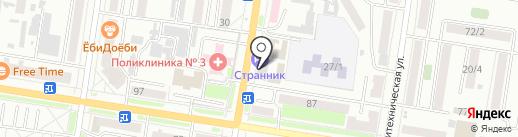 Юный Амурчанин на карте Благовещенска