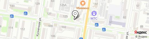Кокон на карте Благовещенска