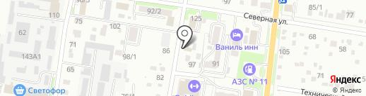 Автоотогрев на карте Благовещенска