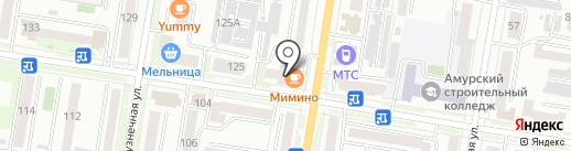 2С на карте Благовещенска