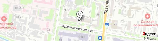 Управление государственного автодорожного надзора по Амурской области на карте Благовещенска