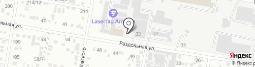 Аграрник, ЗАО на карте Благовещенска