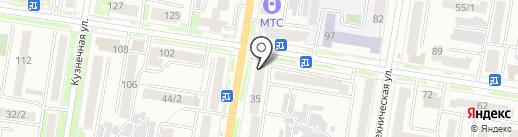 РЕСО-Гарантия на карте Благовещенска