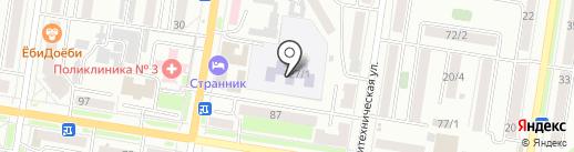 Детский сад №15 на карте Благовещенска