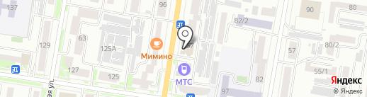 Васильева и К на карте Благовещенска