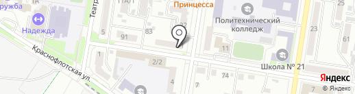 Helix на карте Благовещенска