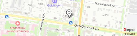 Ранго на карте Благовещенска