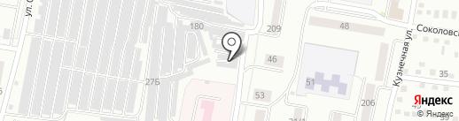 Амур-МТК на карте Благовещенска