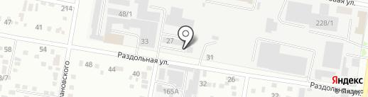 Шерл на карте Благовещенска