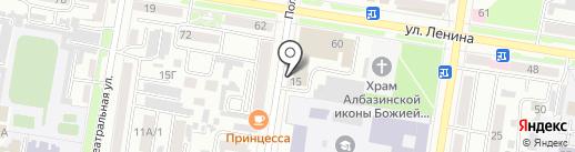 Детейлинг Рудь на карте Благовещенска