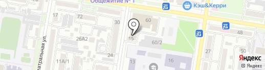Subvision на карте Благовещенска