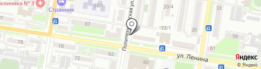 Айсберг на карте Благовещенска