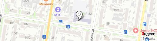 Современная гуманитарная академия, ЧОУ на карте Благовещенска