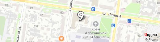 Garage на карте Благовещенска