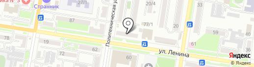 Административный участок №3 на карте Благовещенска