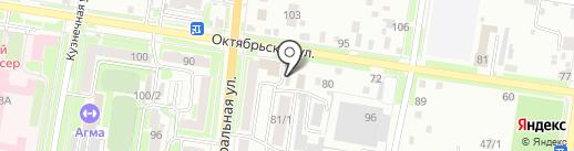 Гидромакс на карте Благовещенска