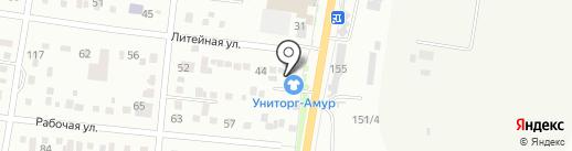 АвтоЛайв на карте Благовещенска