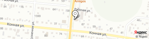Дарья на карте Благовещенска
