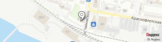 Амурассо на карте Благовещенска