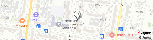 Фурор на карте Благовещенска