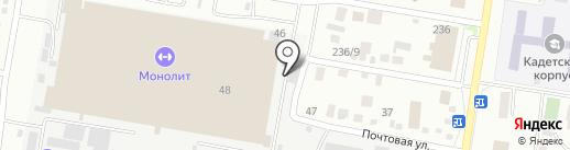 AQUA LINE на карте Благовещенска