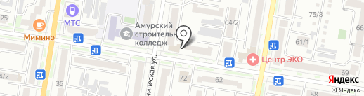 Оптово-розничный магазин семян на карте Благовещенска