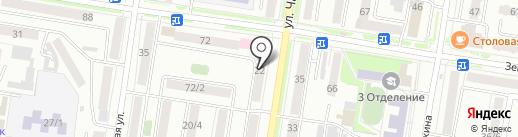 Колбасыч на карте Благовещенска