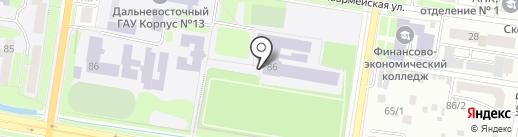 Центр сопровождения бизнеса на карте Благовещенска