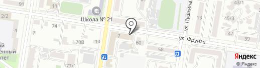 Интерсервис ДВ на карте Благовещенска