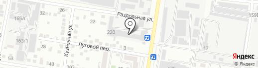 Радиолом на карте Благовещенска