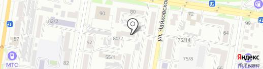 Нотариальная палата Амурской области на карте Благовещенска