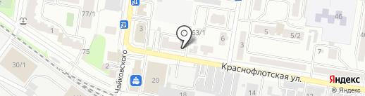РАССВЕТ АМУР на карте Благовещенска