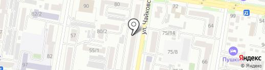Жасмин на карте Благовещенска