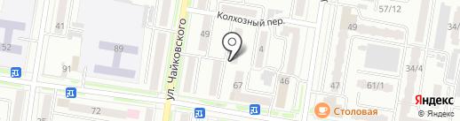 Дюймовочка на карте Благовещенска