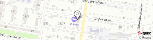 Prime Avto на карте Благовещенска