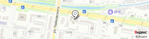 АТК ДСТ на карте Благовещенска